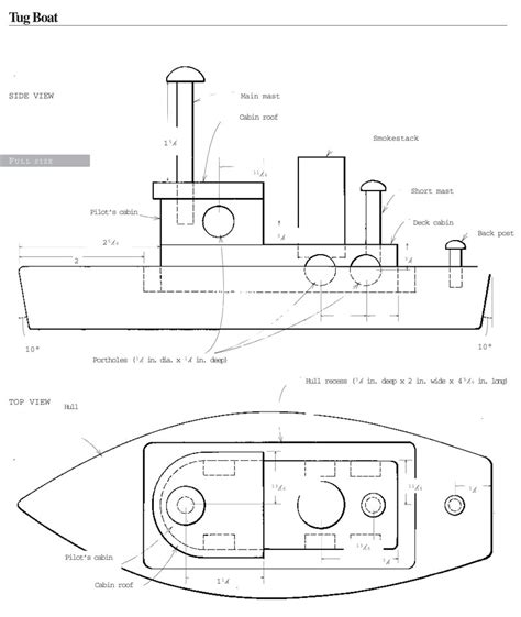 parts of a tugboat diy homemade toys tug boat diy mother earth news