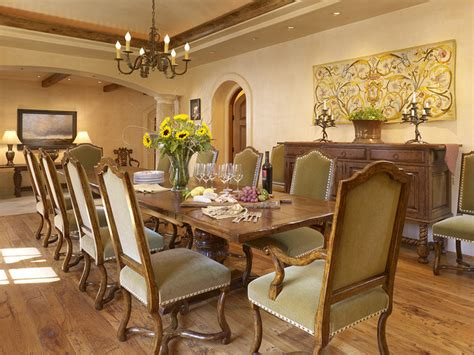 Mediterranean Dining Room Furniture Mediterranean Dining Room