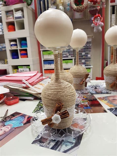 centrotavola con candela centrotavola con candela feste decorazioni di sfizi