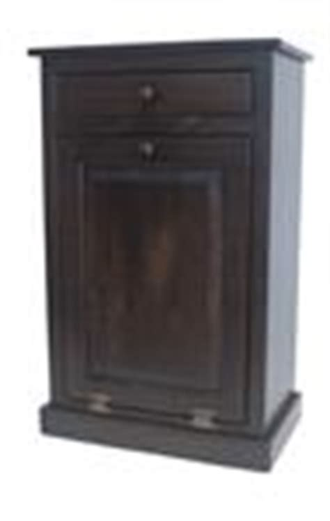 tilt out trash bin cabinet with drawer amish tilt out trash can from dutchcrafters amish furniture