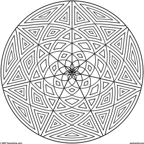 cool geometric coloring pages coloring pages geometrip com free geometric coloring