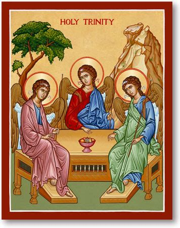 great feast icons: holy trinity icon | monastery icons