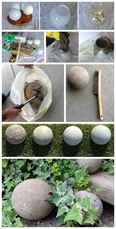 creative diy garden balls   whip    time