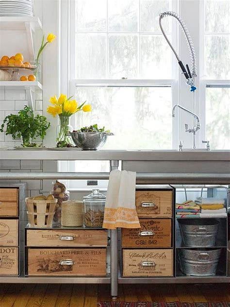 diy kitchen innovative diy ideas to repurpose wine crates