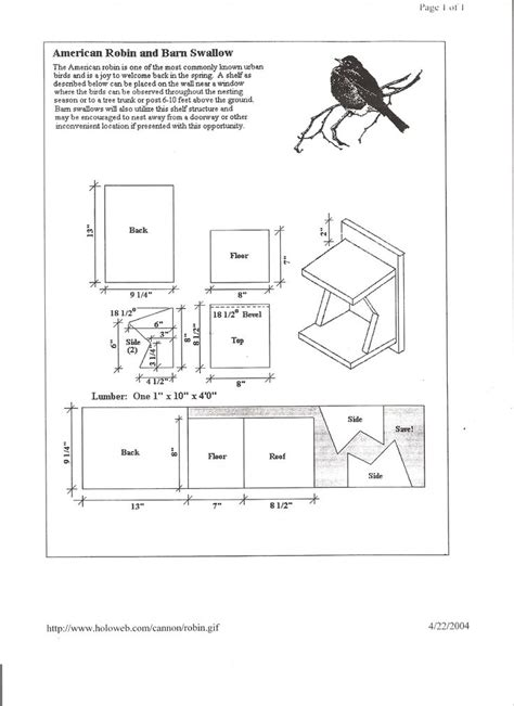Cardinal Bird House Plans Cardinal Bird House Plans Learn About The Cardinal Their
