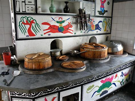 a traditional kitchen corner photograph by jiayin ma