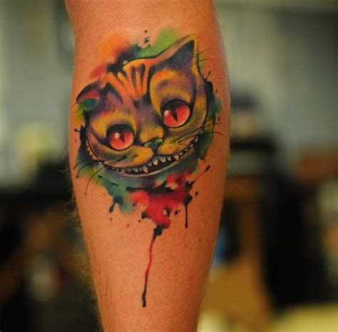 tattoo cat alice wonderland 100 best alice in wonderland tattoos tattooblend
