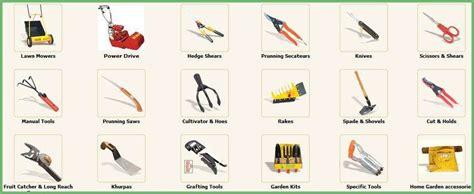 gardening tools names gardening tools names list garden ftempo