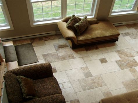 tile flooring living room open plan kitchen diner family room tile floor living