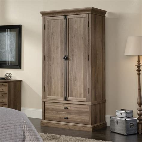 Bed Armoire by Bedroom Armoire In Salt Oak 418891