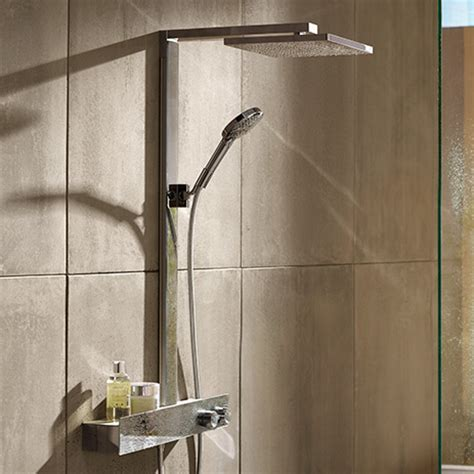 hansgrohe uk shower panels more comfort design in the shower