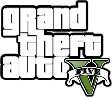Grand Theft Auto 5 Logo Png by Gta V Logo Transparent Www Imgkid The Image Kid