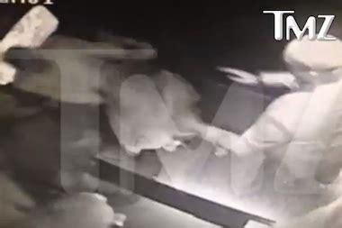video: beyonce's sister solange attacks jay z in standard