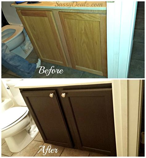 Two Color Kitchen Cabinets by Rust Oleum Cabinet Transformation Review Before Amp After