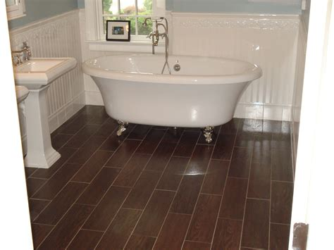 Types Of Bathroom Tile Designs by Bathroom Floor Tile Ideas With Various Types And Sizes