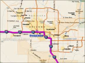 arizona highway conditions map map freeways