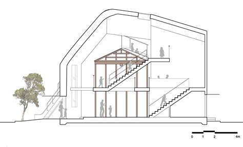 longitudinal section architecture mad clover house longitudinal section archpaper com
