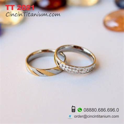 Cincin Titanium Cincin Pria Cincin Cowok Impot Murah Cincin2075 cincin titanium tt 2021 cincin titanium hitam asli