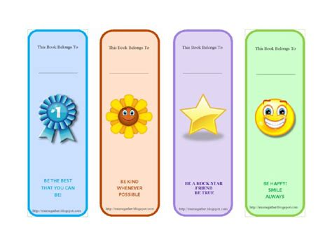 bookmarkers template 40 free printable bookmark templates free template downloads