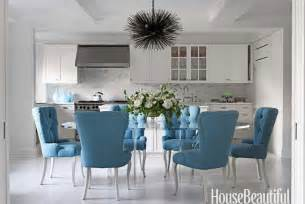 Beautiful Dining Room Chairs turquoise dining chair eclectic dining room house beautiful