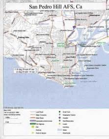 map of san pedro california display site