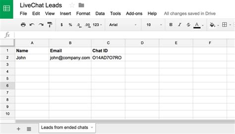 Spreadsheet Live by 4 Ways You Can Capture Live Chat Leads