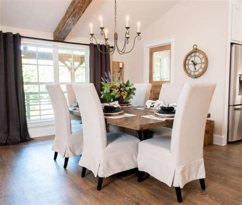 Parsons Dining Room Chairs by Fixer Upper Cargo Ship House The Harper House