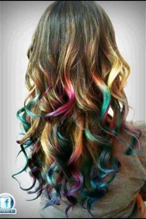 images of multi colored highligts multi colored highlights on long hair how bout hair