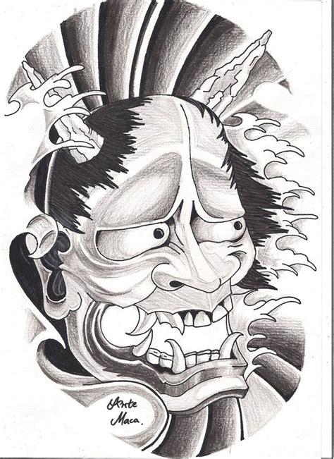 hannya mask tattoo designs hannya mask by mcxr on deviantart