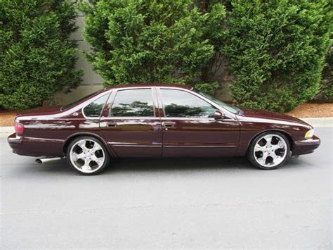 buy used 1995 chevrolet impala ss sedan 4 door 5 7l 95