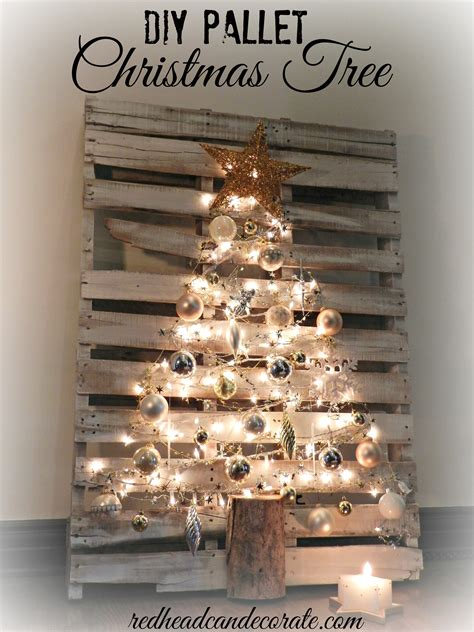 Amazing Company To Hang Christmas Lights #3: DIY-Pallet-Christmas-Tree-by-REdhead-Can-Decorate.jpg