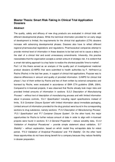 graduate thesis abstract master thesis abstract