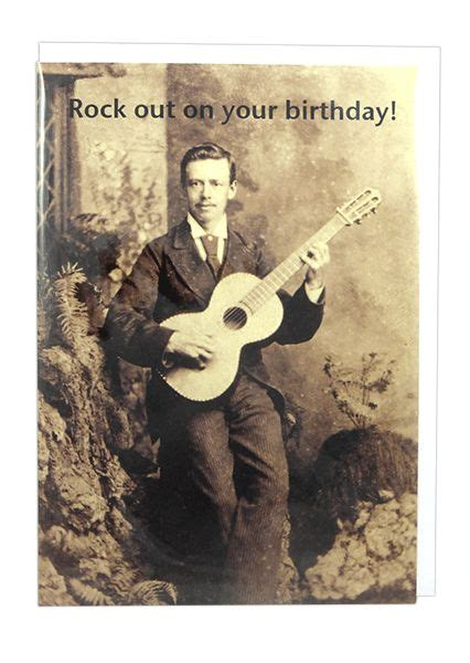 Music Birthday Card Rock Out On Birthday Musical
