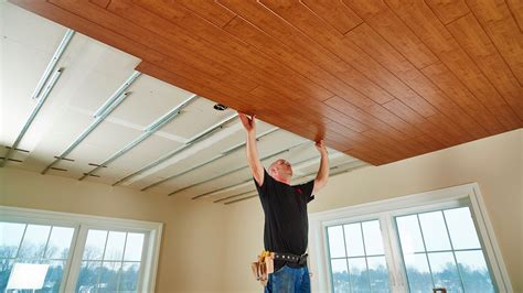 Wood Ceiling Planks Home Depot