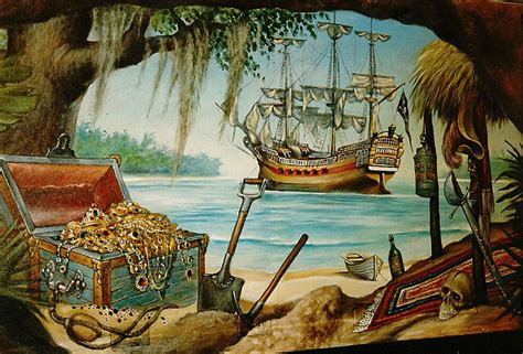 pirate wall murals pirate carribean on pirate treasure wall murals and murals