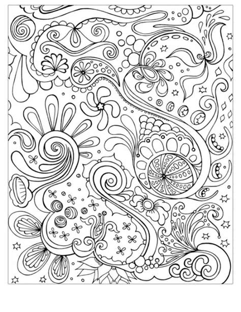 pictures to color for adults coloring pages abstract coloring home