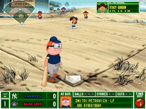 Backyard Baseball 2001 Version by Mlb 2001 Jeu Playstation Images Vid 233 Os Astuces Et Avis