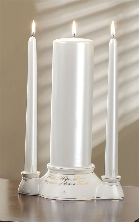 Unity Candle by Greatest Gift Is Unity Candle Set Wedding Collectibles