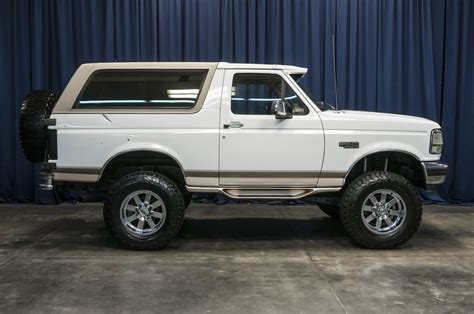 how cars engines work 1996 ford bronco electronic valve timing used lifted 1996 ford bronco eddie bauer 4x4 suv for sale 35454b