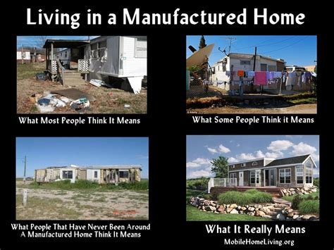 New Home Meme - what living in a manufactured home really means mobile home living