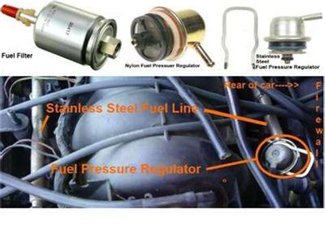 91 honda accord fuel pressure regulator location | get