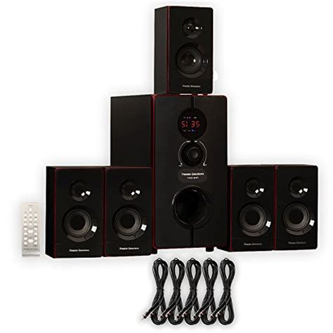 review theater solutions 5 1 home theater 800 watt