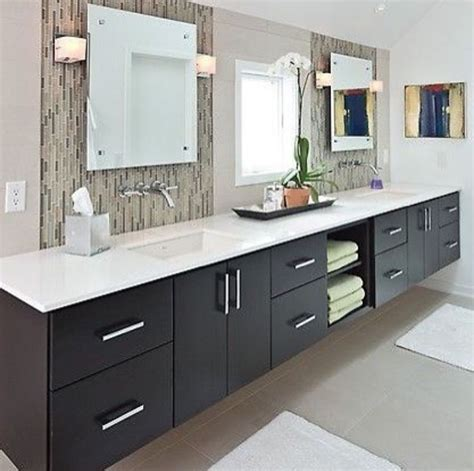 mirrored tile backsplash contemporary bathroom ana mirror interior design pinterest towels middle and