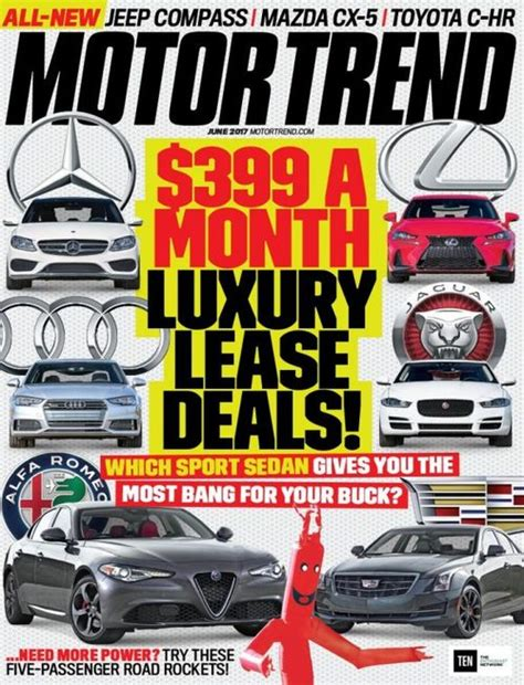 motor trend classic magazine new cars car reviews motor trend magazine subscription discounts renewals gifts