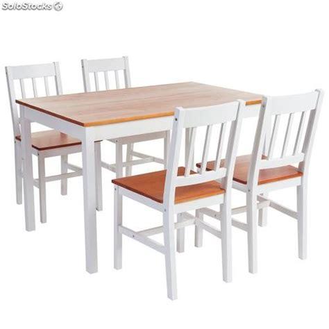 mesas y sillas de cocina lote de mesas y sillas para cocinas en madera