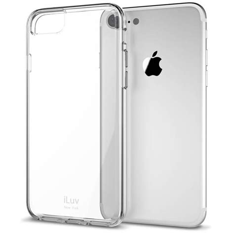 h iphone 7 plus iluv vyneer for iphone 7 plus clear ai7pvynecl b h photo