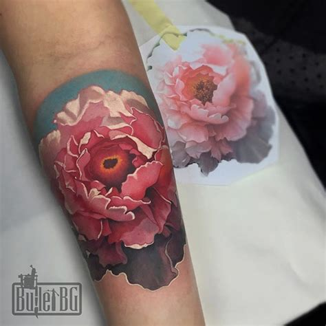realistic flower tattoo 21 realistic peony tattoos
