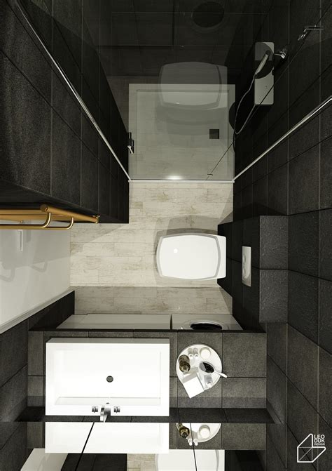 compact bathroom layout 2 apartment design ideas with beautiful blue accents