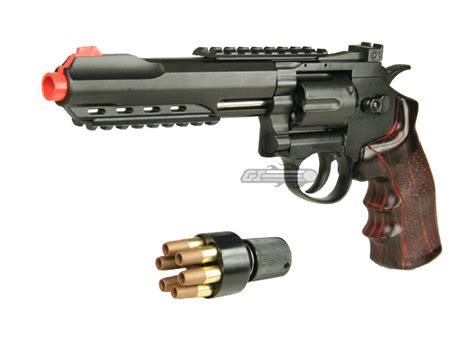 Airsoft Gun Revolver wg 6 quot revolver co2 airsoft gun black imitation wood