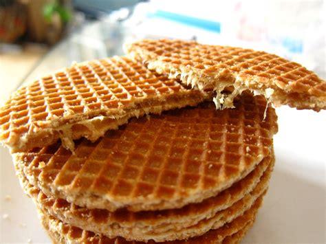 caramel waffle cookies recipe sweet amsterdam stroop waffles and poffertjes is